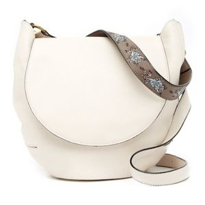 The Sak – Bailard Leather Saddle Bag STONE